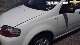 2013 Chevrolet Aveo 1.6 Sedan Blanco Modelo 2013 Al 2014