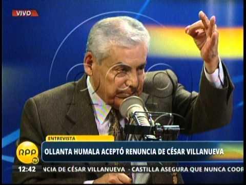 Entrevista a César Villanueva 3/4 (24/02/2014)