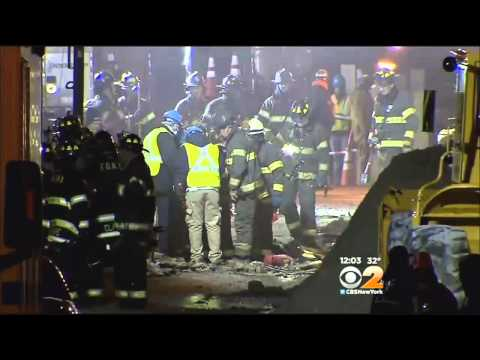 Investigation Continues As Search Continues At East Harlem Blast Site