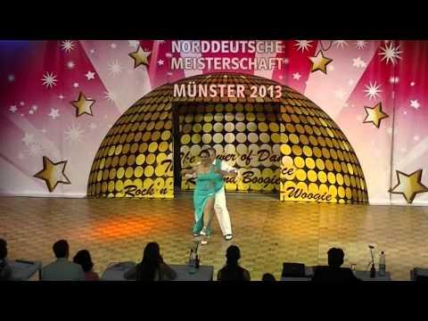 Maria Manitta & Holger Beckert - Norddeutsche Meisterschaft 2013
