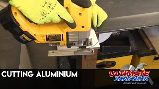 How to cut aluminium