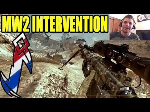COD Nostalgie #3 | MW2 FFA au sniper Intervention Gameplay | Iron SkyRRoZ