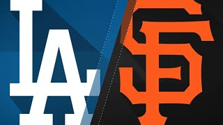 Dodgers tally 20 hits in 15-6 rout of Giants: 4/28/18