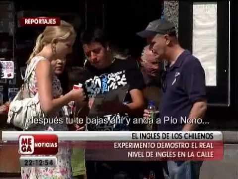 Meganoticias: El Inglés de los Chilenos Parte 1