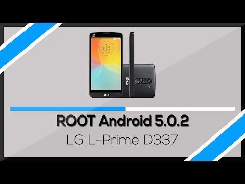 Como fazer root no LG L-Prime D337 com Lollipop 5.0.2 (FUNCIONANDO)