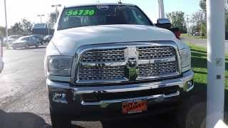 2014 Ram 2500 Laramie Truck White For Sale Dayton Troy
