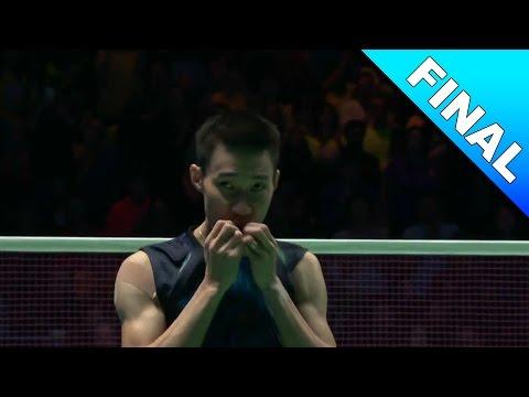 Yonex All England Open 2017 | Badminton F | Lee Chong Wei vs Shi Yuqi [HD]