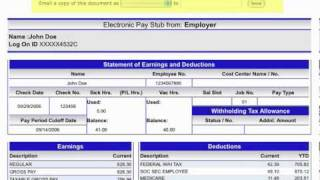 doculivery abm Doculivery Pay Stub Quick-Start Demo - YouTube
