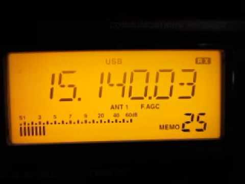 Radio Sultanate Oman 15140 kHz. 28.5.2014.