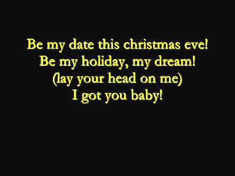 Justin Bieber - Christmas Eve ( Lyrics On Screen )