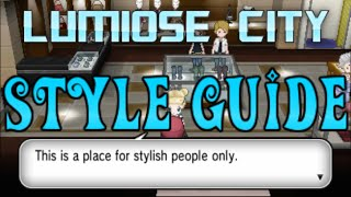 Pokemon X And Y: Lumiose City Style Guide Help (Access To