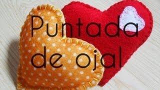 Puntada De Ojal, costura a mano