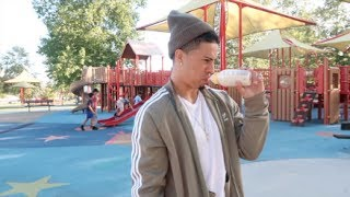 DADDY DRINKS BREAST MILK!!! (HE LOST A BET)