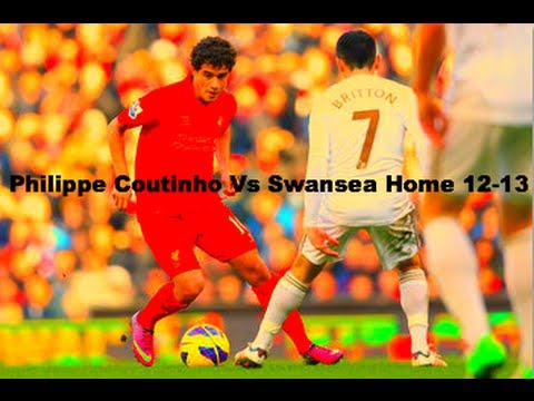 Phillipe Coutinho Vs Swansea Home 12-13 HD