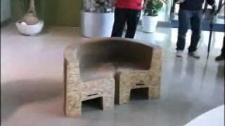 A cadeira mais futuristica que você já viu