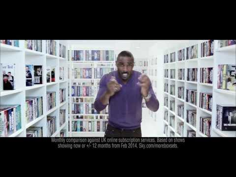 Sky Box Sets Ad Featuring Idris Elba