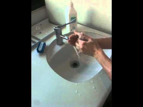 fisse i nordjylland vasker sine hænder