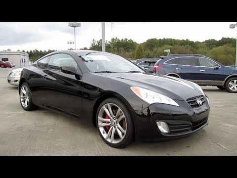 Hyundai Genesis Coupe Blacked Out