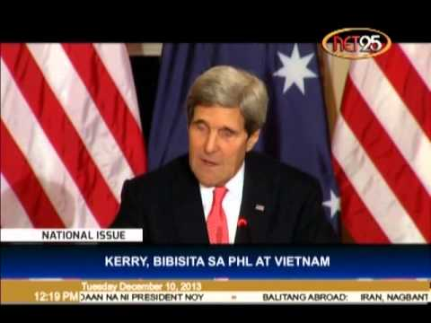 Kerry To Visit Philippines and Vietnam
