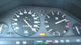 "BMW E30 Turbo 0 240km/h; 0 100 In 4.4"", 0 200 In 12"
