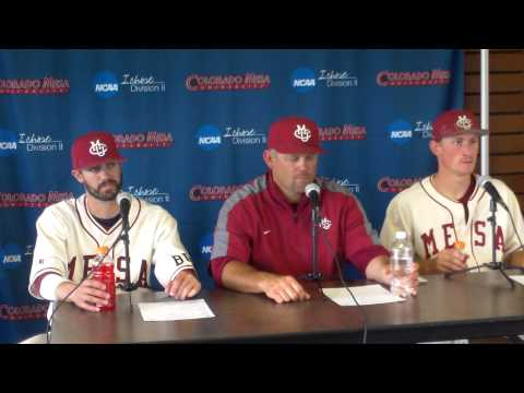 Colorado Mesa NCAA Baseball Post Game