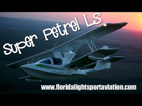 Super Petrel LS, EDRA Aeronautica Super Petrel LS, Florida light sport aviation.