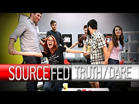 Slow-Mo Gangnam Style and Sexy Banana Peeling! It's TRUTH OR DARE!