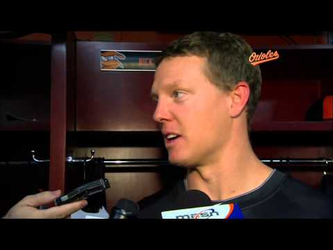 Nick Hundley chats about joining the Orioles