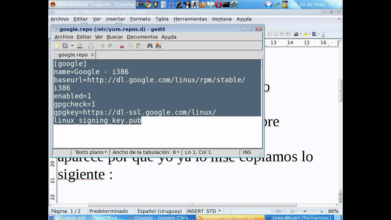 Google Chrome Para Gnome Xo 1.5