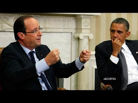 "Obama and Hollande call for ""ambitious"" global climate change deal"