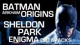 Batman: Arkham Origins Enigma Data Packs Sheldon Park