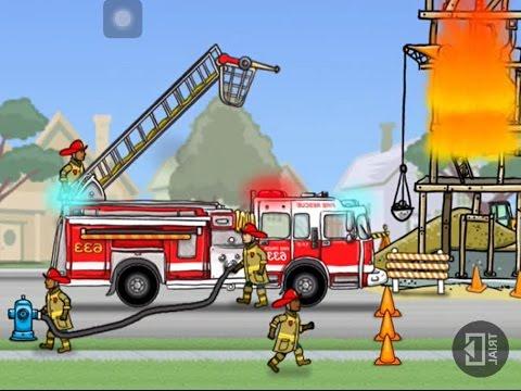 Hoạt Hình Xe cứu hỏa, Máy xúc, Máy ủi, Xe Cần Cẩu, Xe đồ chơi, Xe Ô tô, dump truck !