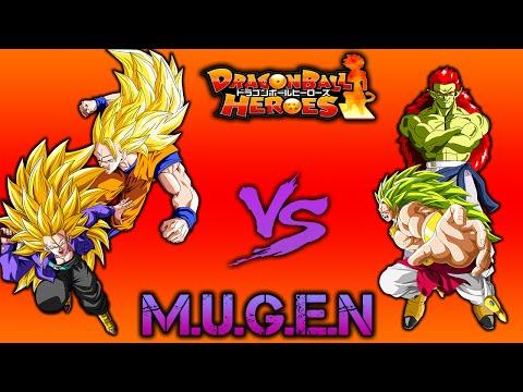 Dragonball Heroes Mugen Goku