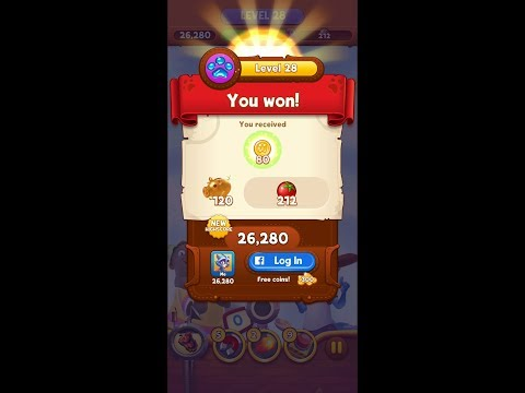 Bubble Island 2 Level 28 Hard HD 1080p