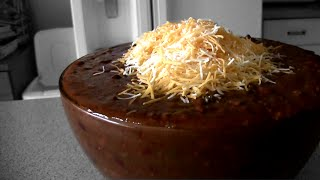 """The """"Superbowl"""" of Chili... (9000+ Calories)"""