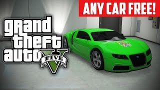GTA 5 Online: How To Buy ANY Car For FREE! Free Rare Cars