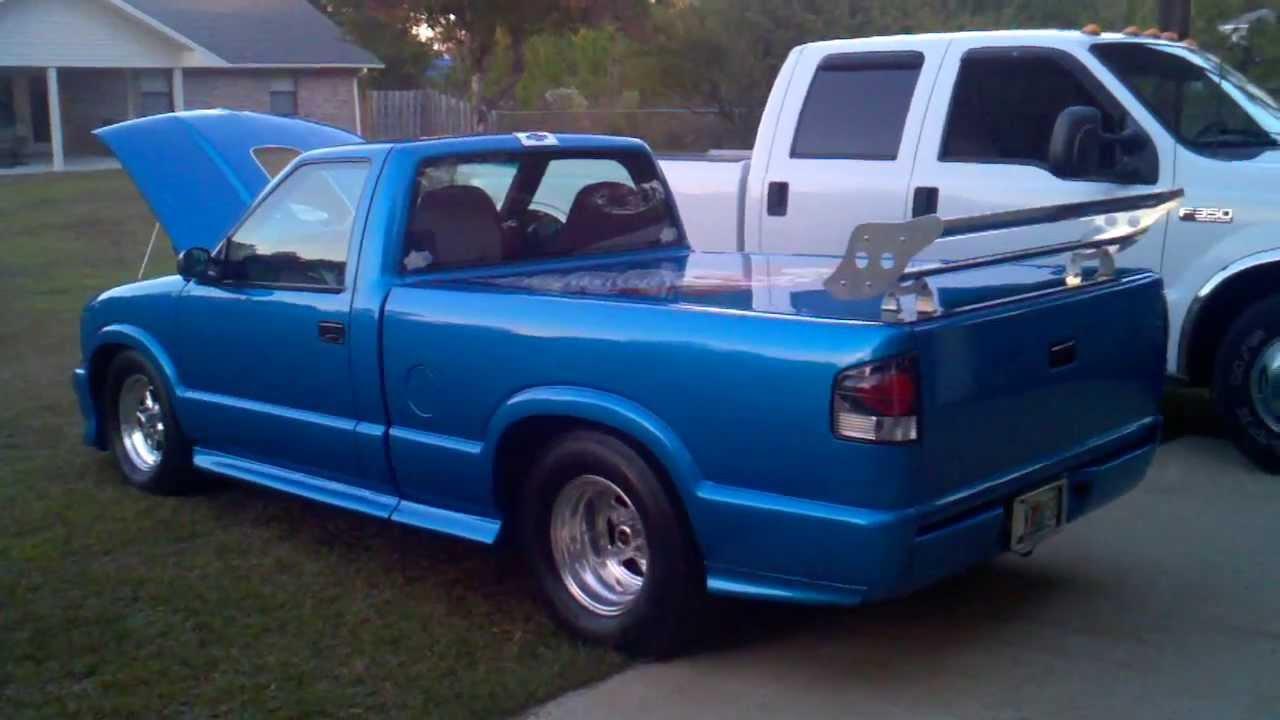 "Small Block Chevy Motors Robbie's BLOWN Pro Street S10 S-10 (Part 2.1) ""Taz"" - YouTube"