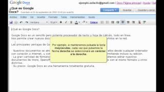 Curso de Google Docs. Parte 4