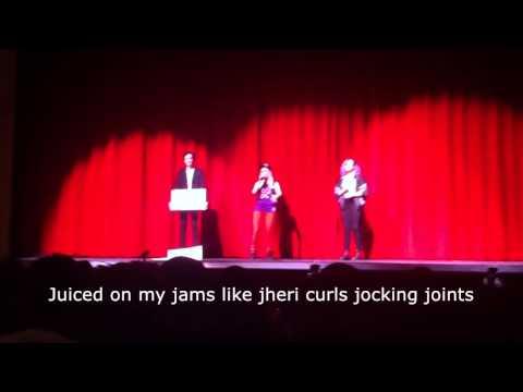 Science Teacher RAPS ALPHABET AEROBICS! (sing along)