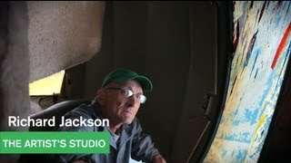 Richard Jackson – Painting With Two Balls – The Artist's Studio – MOCAtv