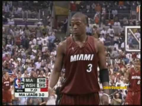 Dwyane Wade 2005 Playoffs: Gm 4 Vs. Wizards, 42/7/4 *22 pts in 3rd*
