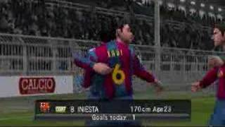 PES 2008 PSP Barcelona Vs Real Madrid