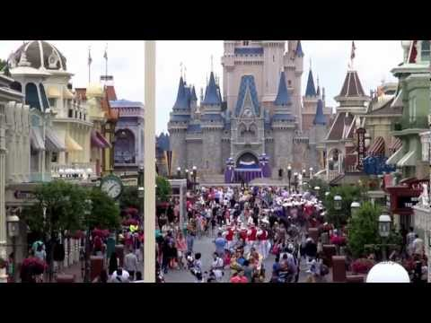 Magic Kingdom Walt Disney World 2013 March 20th HD 1080p