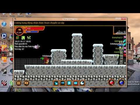 40 phút hoàn thành hang động 4x trên ninja school online