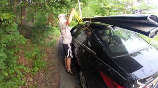 How To Get The Porta-Bote On The Roof Rack
