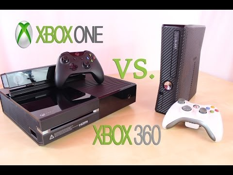 Xbox One vs Xbox 360 Differences | Microsoft Console Comparison/ Upgrades & Features