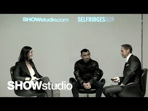 SHOWstudio: In Conversation - Nick Knight / Nicola Formichetti / Lou Stoppard