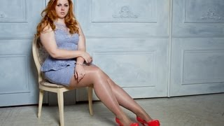 Russian Plus Size Model Curvy Katalina Gorskikh (14.01