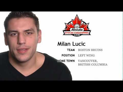 Milan Lucic On Open Ice Hits