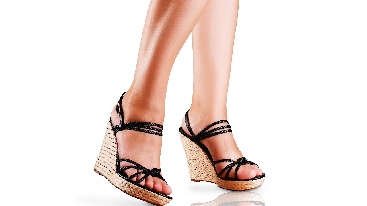 How to Walk in High-Heeled Wedges